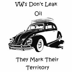clipart illustration of a volkswagen beetle car in black
