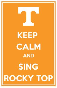 University of Tennessee Vols Keep Calm & Sing by TheFashionistaFan, $12.00