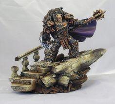 40k - Warmaster Horus by Bhyostar