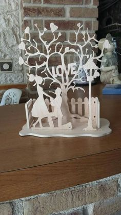 Pvc Pipe Crafts, Wood Crafts, Diy And Crafts, Laser Cut Wood, Laser Cutting, Clay Wall Art, Laser Cutter Projects, Family Photo Album, Plate Holder