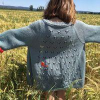 Drops Patterns, Lace Patterns, Knitting Patterns Free, Free Knitting, Crochet Patterns, Drops Baby, Stuart Little, Magazine Drops, Snow Fairy