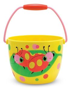 Melissa  Doug Sunny Patch Mollie and Bollie Ladybug Pail  Outdoor Toy for Kids -- To view further for this item, visit the image link.Note:It is affiliate link to Amazon.