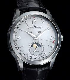 SIHH 2013 - Jaeger-LeCoultre Master Calendar- Chubster's choice Men's Watches - Watches for Men ! Dream Watches, Fine Watches, Cool Watches, Men's Watches, Jeager Le Coultre, Rolex, Jaeger Lecoultre Watches, Seiko, Hand Watch