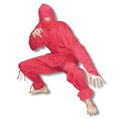 Red Ninja Uniform now available at http://www.karatemart.com/