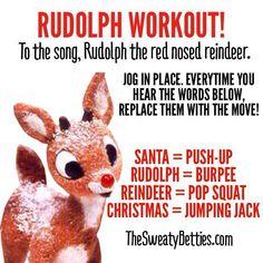 Rudolph Workout!! #gosweatyourself