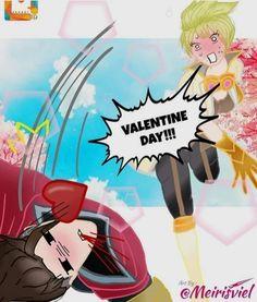 Mobile Legends, Bang Bang, True Colors, All Art, Bb, Fanart, Valentines, Anime, Beautiful