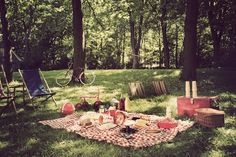 A cosy picnic in Central Park, NY.
