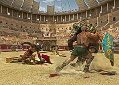 Gladiatori in combattimento