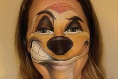 Awesome Timon Facepainting