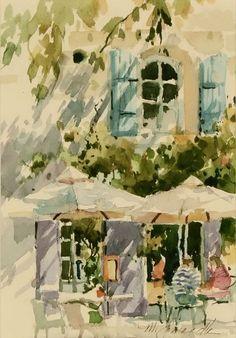 Marilyn Simandle watercolor - Google Search