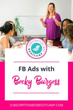 In this episode, Julie chats with her good friend Becky Burgess to talk about Facebook Ads. Tune in to learn some valuable tips on how to maximize your Facebook ad spend. Complete Plan for Subscription Box, Start a sub box, How to start a subscription box, Start a subscription box, Business Ideas, How to Make Money, Entrepreneur Inspiration, Business Plan Execution, Business Launch Ideas, Business Interviews, Trendy Business Ideas! #planning #subscriptionbox #interview #trendybusiness…