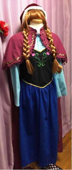 アナと雪の女王 アナ コスプレ フルセット ハロウィン_画像2