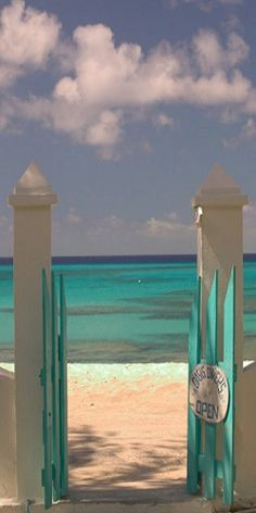 Front Street Gate on Grand Turk Island, Turks and Caicos, Caribbean - ©Walter Bibikow (via AllPosters)