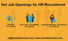 Today's talent. Tomorrow's success. ‪#‎Latest‬ ‪#‎JobOpening‬ for ‪#‎HRRecruiter‬ ‪#‎ITRecruiter‬ ‪#‎Recruitment‬ at ‪#‎Pune‬