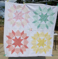 Love this version of the popular swoon pattern