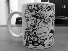 Meme dream mug. I throw money at the screen and nothing happens!