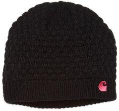 Carhartt Women's  Embroidered C Knit Hat, Black, One Size Carhartt http://www.amazon.com/dp/B0050SCVW2/ref=cm_sw_r_pi_dp_jLCMub1FNTR32