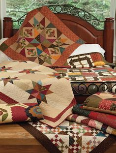 "Kim Diehl new quilts in her upcoming book ""Homestyle Quilts"""