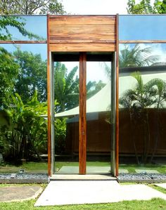 A Glass House in the Tropics  by Toma Design | Sulthon, Bali