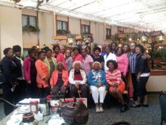 Beautiful Congress members at our annual Motherhood Brunch (May 2013).