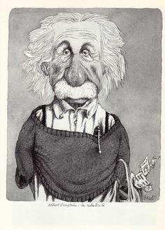 Tullio Pericoli  Albert Einstein