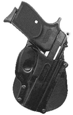 """Fobus Standard Holster RH Paddle BS2 Bersa Thunder 380 / Firestorm .380 cal by Fobus. $22.30. Lifetime Warranty - All Fobus products carry a 100% Customer Satisfaction""""no questions asked"""" policy.. Save 26%!"""