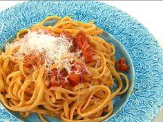 Spaghetti all´amatriciana   Recept från Köket.se