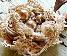 Nest...You could do these for an Easter tree or maybe even a Christmas tree!