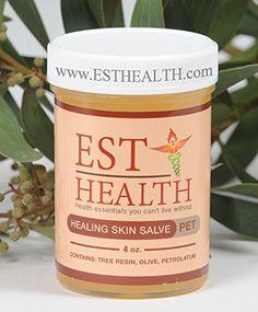 "EST HEALTH Healing Skin Salve ""PET"" (4oz)"