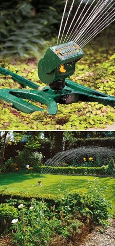 Mini Oscillating Sprinkler-I have a system, but this is cool!