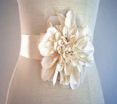 Flower Belts For Wedding Dresses
