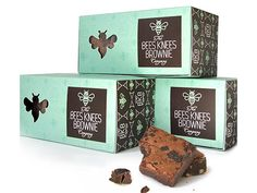 The Bees Knees Brownie Company on Packaging of the World - Creative Package Design Gallery