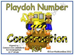 Your students will love this fun, construction themed activity pack that will help them learn numbers, number sense and develop their fine motor skills while working on the Common Core State Standards!