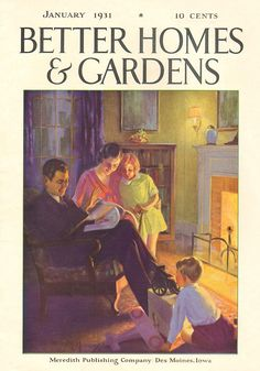Better Homes and Gardens 1931-01
