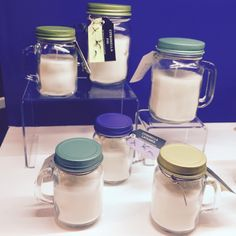 Scented Soya Candles in Mason Jars - Small and Medium Sizes Available #soyacandle #candle #homedecor #giftideas