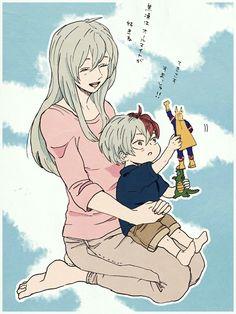 Todoroki Shouto & His Mother