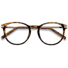 9b5ea2068c71d8 Women s Daphne - Brown Tortoise round plastic - 12765 Plastic Rx Eyeglasses