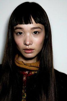 Yuka Mannami - Backstage at DKNY FW16 - M.