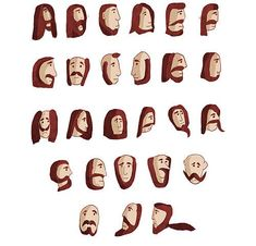 Beard Font? Beard Font indeed. #typography