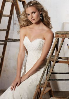 Mori Lee - Magnolia - 8109 - All Dressed Up, Bridal Gown