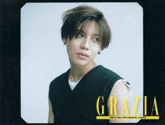 150729 SHINee Taemin - Grazia Magazine August Issue