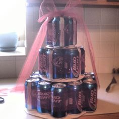 BEER CAKE!!! With sparkles