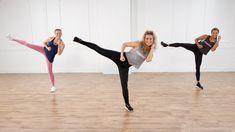 Get ready to burn major calories with Eliza Shirazi, creator and founder of Kick It by Eliza. This high-intensity workout combines dance, fitness, and (of co. 30 Minute Cardio Workout, Cardio Boxing, Kickboxing Workout, Cardio Workouts, Beginner Workouts, Body Workouts, Workout Fitness, Kick Boxing, Youtube Cardio