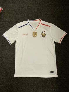 2019 20 France Away White Soccer Jersey Thai Quality. Soccer ShirtsThailandSoccer  T ShirtsSoccer JerseysFootball Shirts 117aeef62