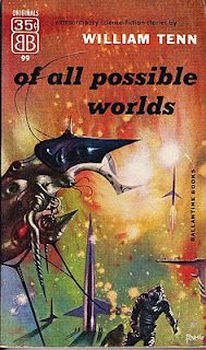 Richard Powers, artist of many wonderful, wonderful SF covers from decades past. I have collected a dozen plus of these terrific covers. ahhhh.....  He reminds me often of Yves Tanguy, in his more abstract stuff.