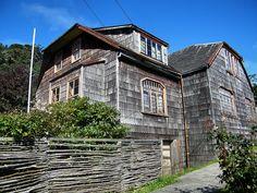 Historic Home in Puerto Varas, Chile by katiemetz, via Flickr
