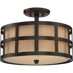 Found it at Wayfair - Carolyn Kinder 3 Light Semi Flush Mount