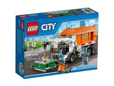 60118 Garbage Truck Lego City Town Sealed Police New Legos Set Train on Trucks Pedia 6097 Trucks Only, New Trucks, Lifted Trucks, Lego Sets For Boys, Best Lego Sets, Lego City, Best Christmas Toys, Christmas 2016, Lego Building Sets