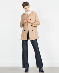ZARA - WOMAN - HAND MADE COAT