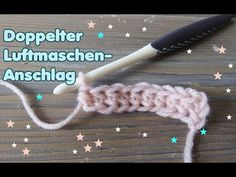 Double chain stitch - crochet without chain stitch Crochet double crochet WITHOUT chain stitch / Crochet elastic beginning from double crochet – You Crochet Chain Stitch, Crochet Cap, Diy Crochet, Beginner Crochet, Knitting Patterns, Sewing Patterns, Crochet Patterns, Crochet Double, Clouds Pattern